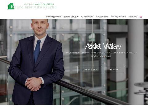 Opalinski.eu adwokaci wrocław porady prawne