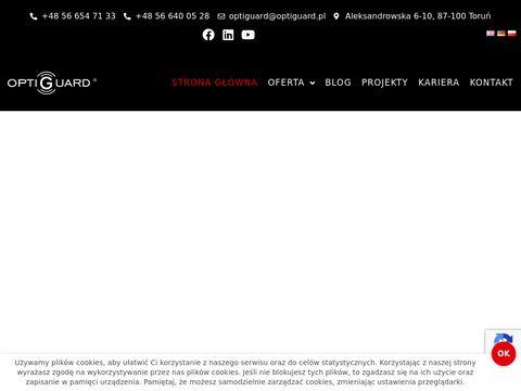 Elektroniczne antykradzie偶owe systemy zabezpiecze艅 - Optiguard