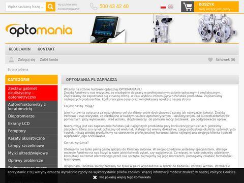 Sprz臋t okulistyczny - sklep internetowy Optomania.pl