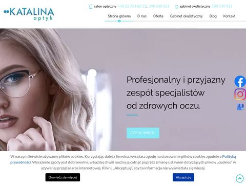 Optyk-katalina.pl Optyk 艁omianki