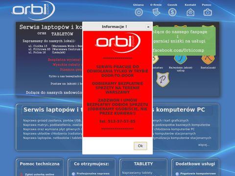 Orbicomp serwis komputerowy Warszawa