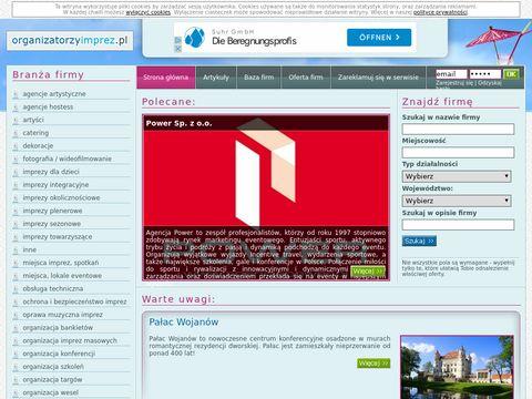 Organizatorzyimprez.pl - katalog organizator贸w imprez i event贸w