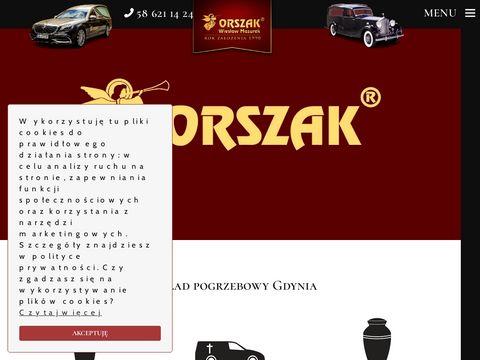 Międzynarodowy przewóz zmarłych - ORSZAK