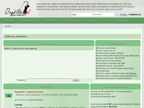 W臋dkarstwo - forum w臋dkarskie Orybach.pl