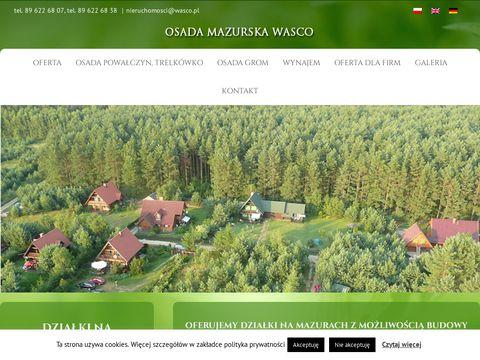 Osada Mazurska - sprzedaż działek na mazurach