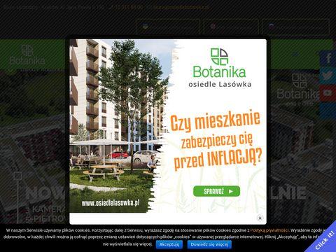 BOTANIKA Nowe osiedle Krak贸w