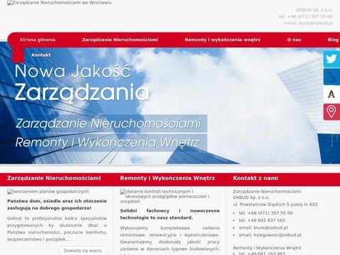 OXBUD rozliczenia wspólnot mieszkaniowych Wrocław