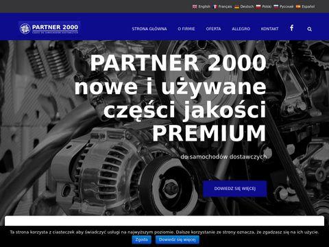Partner 2000 - Cz臋艣ci do samochod贸w dostawczych, VW LT, Renault Master, Mascott