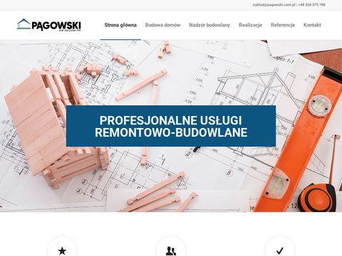 Pągowski - Firma budowlana, budowa domów - Łódź