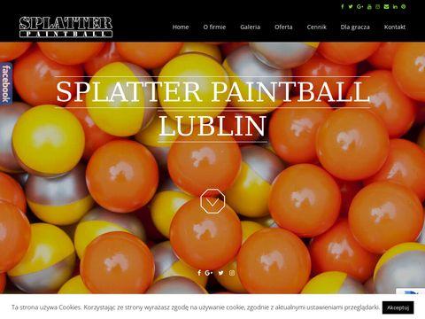 Splatter Paintball