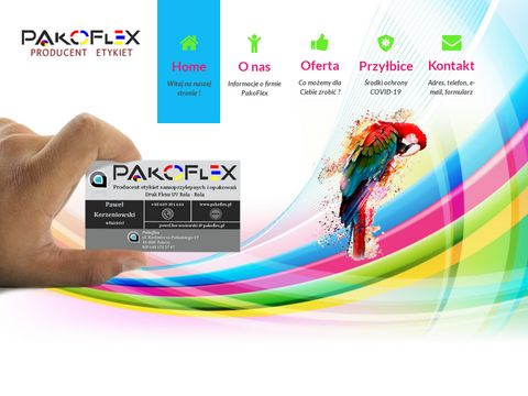 PakoFlex - producent etykiet czystych i zadrukowanych