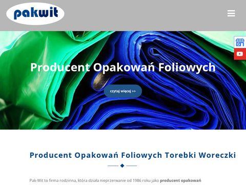 PAK-WIT producent opakowań foliowych