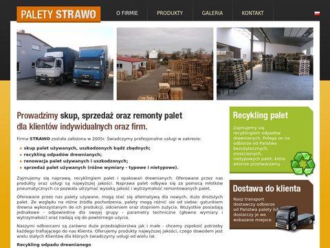PaletyStrawo.pl - skup, sprzedaż, naprawa palet