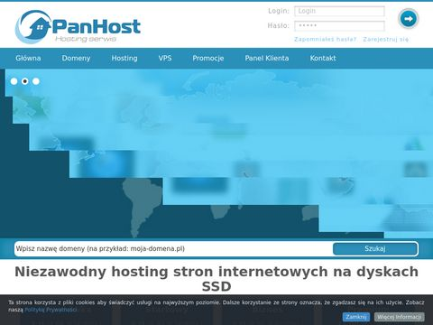 Panhost.pl : Tanie domeny i hosting.