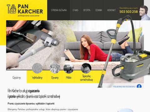 Pankarcher.pl - pranie dywanów Poznań