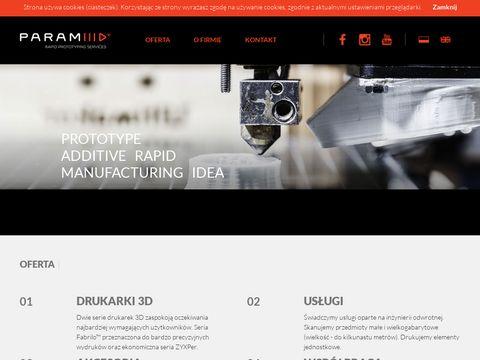 Paramid3D - producent drukarek 3D z Warszawy