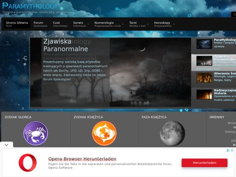 ParaMythology - Zjawiska Paranormalne, Ezoteryka, Mitologia