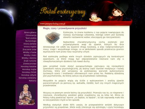 Wróżby - tarot - horoskopy