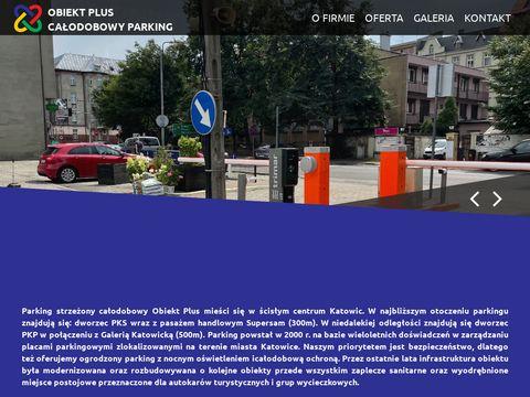 Obiekt Plus 鈥� ca艂odobowy parking strze偶ony