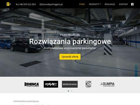 ParkingPlus.pl - rozwiÄ…zania parkingowe i drogowe.
