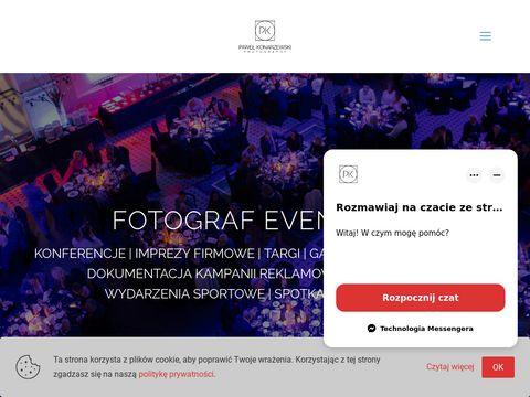 Fotograf eventowy -www.pawelkonarzewski.pl