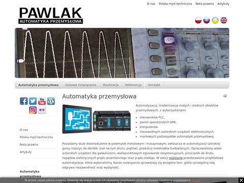 PAWLAK Automatyka Przemysłowa - napędy elektryczne, modernizacja galwanizerni i zgrzewarek