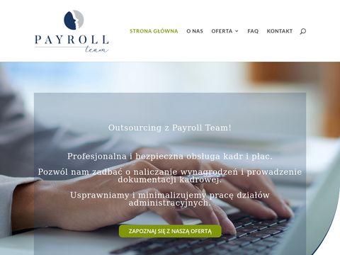 Kadry i płace z Payroll-Team.pl