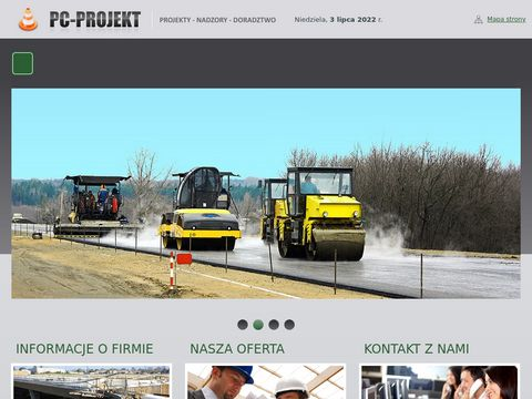 PC-PROJEKT projekty dróg warszawa