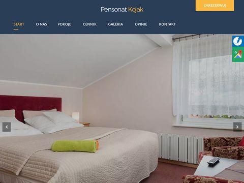 Www.pensjonatkojak.pl Hotel jastrzÄ™bia