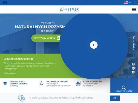 Naturalne gryzaki dla ps贸w - Petmex