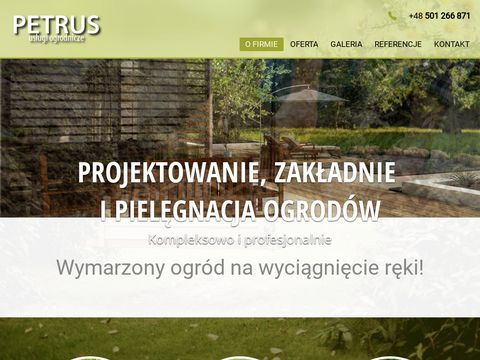 Www.petrus-ogrodnictwo.pl