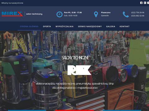 P.H.U Mirex - SALONY TECHNICZNE