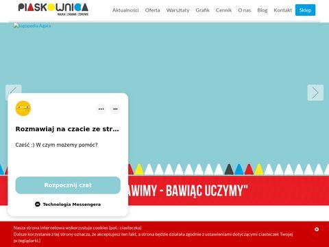 Warsztaty dla dzieci - piaskownica.eu