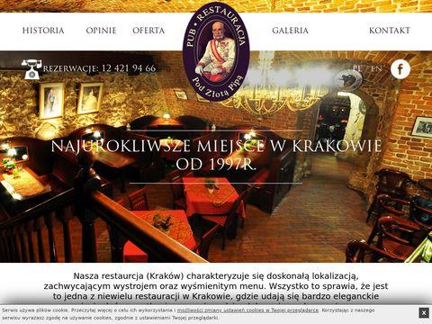 Najlepsze restauracje Kraków