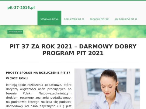 Rozliczyć PIT 2020 - PIT 37