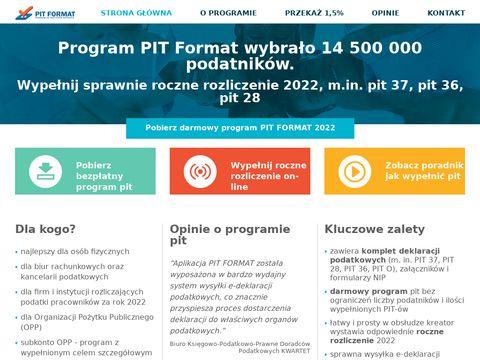 Program do pit 2020 - Å'atwe pity