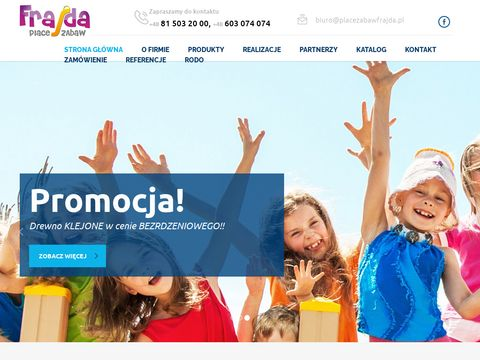 FRAJDA place zabaw
