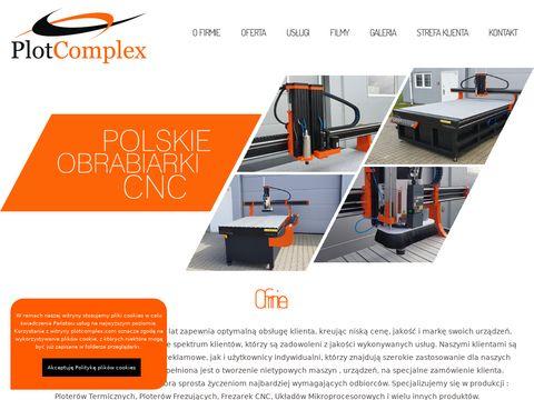 Przemysłowe maszyny do obróbki CNC