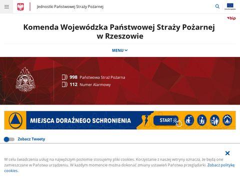 Komenda Wojew贸dzka Pa艅stwowej Stra偶y Po偶arnej w Rzeszowie