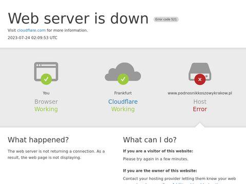 Podnośnik koszowy Kraków