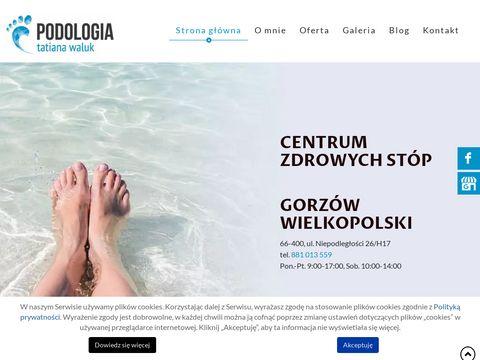 Podologgorzow.pl konsultacja podologiczna