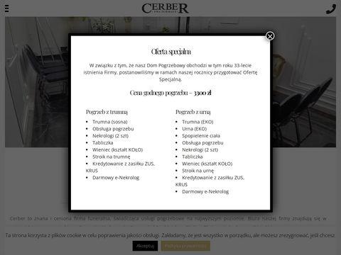Cerber - Us艂ugi pogrzebowe Wola, Bemowo, Ursyn贸w