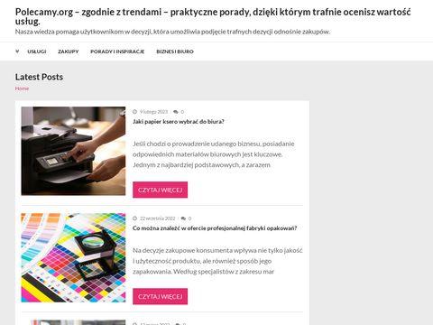 Polecamy.org - Polecane strony www