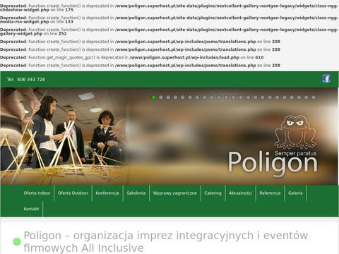 Poligon - Organizacja imprez