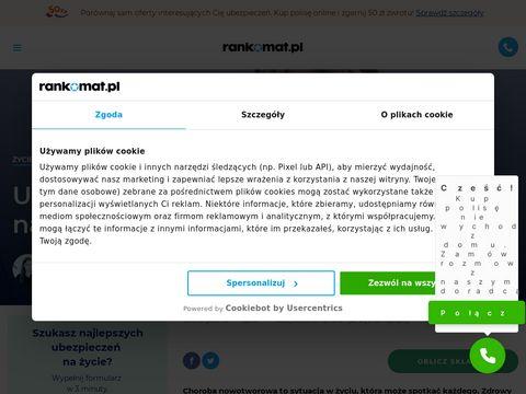 Ubezpieczenie na nowotw贸r 鈥� polisanaraka.pl