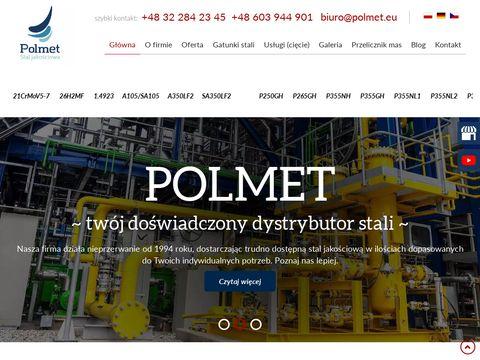 POLMET sprzedaż stali stal 16MO3 śląsk