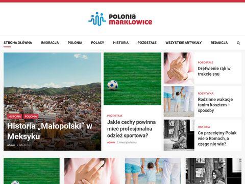 Oficjalna strona KS Polonia Marklowice