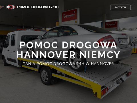 POMOC DROGOWA HANNOVER +48 604 381 555 TANIA LAWETA HANNOVER 24h