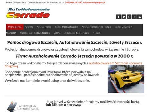 Pomoc drogowa Szczecin,Autoholowanie Szczecin.