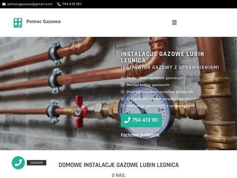 Pomoc Gazowa - usługi gazownicze z uprawnieniami na terenie Legnicy Lubina i okolic